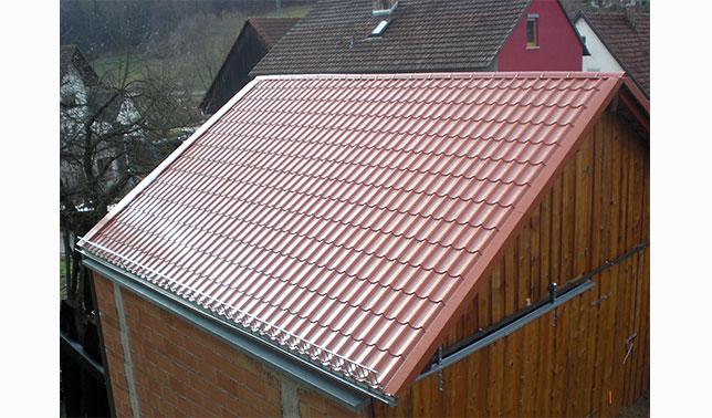 Die Pfannenprofile als tolle Alternative zur Dachziegel